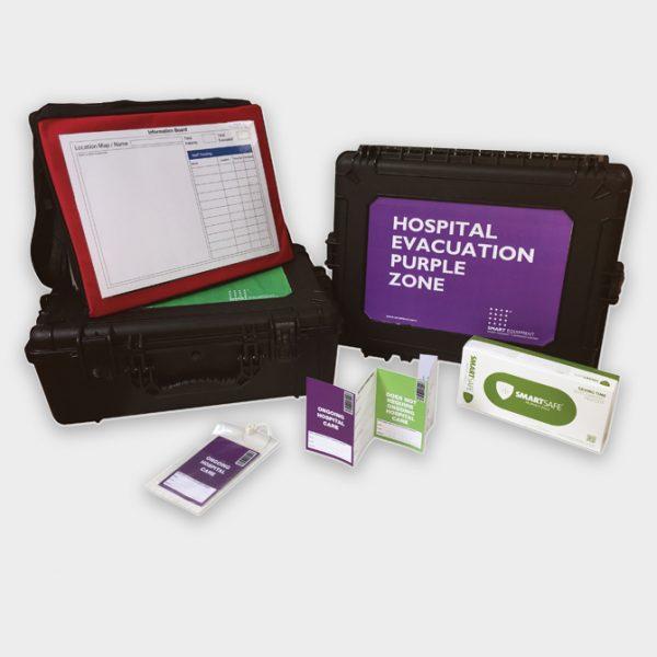 Hospital Evac Purple Green Zone